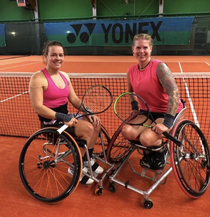 Marjolein en Micha na de eindoverwinning